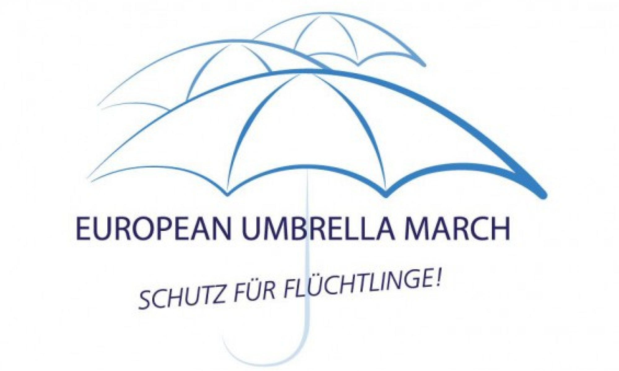 Umbrella March Linz - Internationaler Tag des Flüchtlings